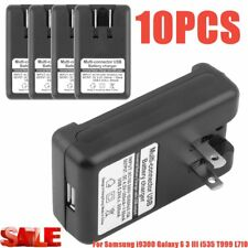 External Battery Dock Wall Travel Charger for Samsung Galaxy S3 i9300 i747 LOT