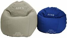 Bean Bag Chair Adult Size BeanBag Personalized Embroidered