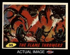 1962 Topps / Bubbles Inc Mars Attacks #35 The Flame Throwers  EX/MT