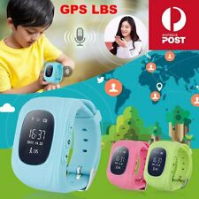 Q50 GPS LBS Tracker SOS Call SIM Anti-Lost Waterproof Smart Watch XMAS GIFT AU