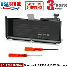 "Laptop Battery for Apple A1331 A1342 Late 2009 Mid 2010 Unibody MacBook 13.3"" A+"