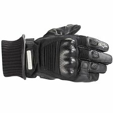 ALPINESTARS Arctic Drystar All-Weather Motorcycle Gloves (Black) Choose Size