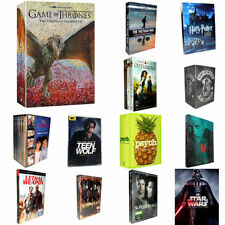 The Complete Series DVD:Game of Thrones,Harry Potter,Star Wars,Psych,Reign,Monk.