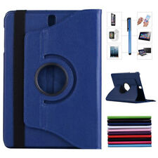 Rotating Leather Stand Case Cover For Samsung Galaxy Tab 3 4 7.0 8.0 10.1 Tablet