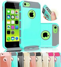 Slim Shockproof Rugged Hybrid Rubber Hard Cover Case Skin for iPhone 5c Case