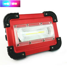 Led work light rechargeable Hand Lamp Camping Lantern Flood Light for Hiking New