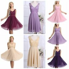 Lace Bridesmaid Formal Dress Hot Women Prom Wedding Gown Evening Party Cocktail