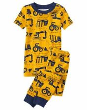 NWT GYMBOREE Boys Gymmies Pajamas SET yellow construction 12 18M 10