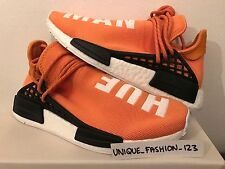 ADIDAS NMD HUMAN RACE HU PHARRELL PW UK 4 5 6 7 8 9 10 11 12 TANGERINE ORANGE