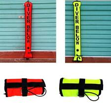 Safety High Visibility 4FT Scuba Diving Dive SMB Surface Marker Buoy Signal Tube