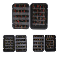 40pcs Dry Flies Fly Fishing Flies Kit Bass Salmon Trout Flies Floating Lures