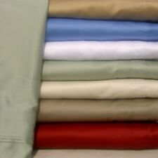 1000TC Egyptian Cotton Bedding Item Extra Deep Pocket New Solid Color Size Queen
