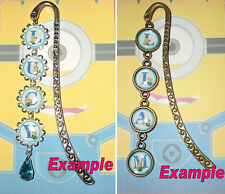 PERSONALISED Minion Bookmark Book Mark - ANY NAME Disney Despicable Me Pendant