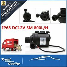 IP68 DC12V 5M 800L/H Ultra Quiet Brushless Motor Submersible Pool Water Pump OP