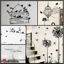 Wall Decal Stickers DIY Birds Tree Removable Vinyl Home Room Decor Art Quotes