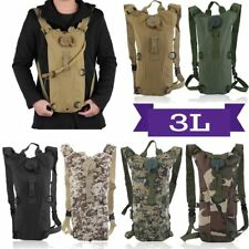 Cycling Climbing Hiking Survival Hydration System Water Bag Pouch Backpack 3L OY