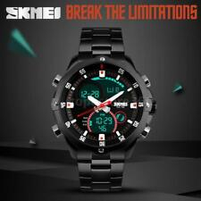 SKMEI Analog-Digital Dual Time Men Sport Watch 3ATM Chronograph Date Alarm Z2W0