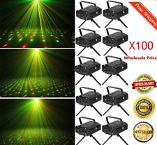 LOT 100 Mini LED R&G Stage Lighting Laser Projector LightParty DJ Disco Show OY