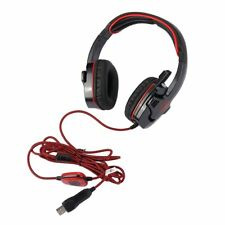 USB Wired Surround Sound Headphone Gaming Headset W/ Mic For SADES SA901