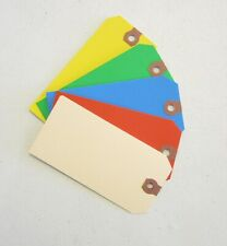 250  AVERY COLORED BLANK SHIPPING HANG TAGS SCRAPBOOK GIFT INVENTORY PAPER LABEL