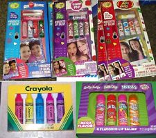 Lotta Luv LIP BALM JUMBO SETS LAFFY TAFFY AIR HEADS JELLY BELLY NERDS  New