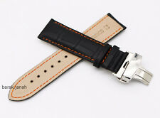 Genuine Leather Straps for Omega watches Breitling Seiko and Tudor watch + Gift