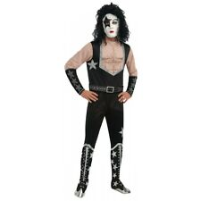 KISS Costume Adult Starchild Halloween Fancy Dress