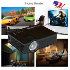UC40 Pro 1080P LED Home Theater Cinema Game Projector HD 1080P HDMI VGA USB Play