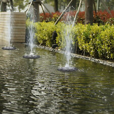 Solar Panel Powered Submersible Floating Fountain Garden Pool Pond Water Pump UP