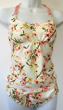 Antonio Melani Womens NWT $132 Tankini Bikini Swimsuit, S M, Single / 2Pc Floral