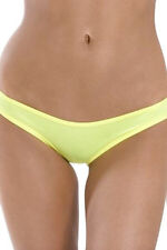 Scrunch Hip Half Back Panty 1156SL Body Zone Black,Neon Pink,Red,Turquoise,White