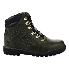 Timberland 6 Inch Leather Field Junior's Boots Green TB0A1QAU