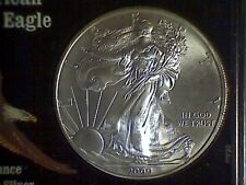 2000 American Eagle Silver Dollar in Snap Lock Plastic #36 - Good Investment