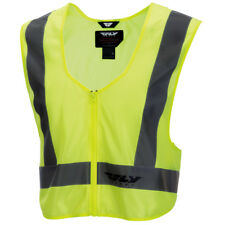 Fly Street Hi-Visibility Mens Riding Cruising Reflective Motorcycle Safety Vest