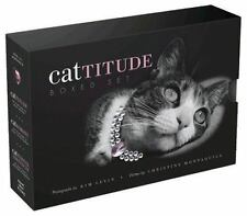 Cattitude Boxed Set by Kim Levin and Christine Montaquila (2007, Hardcover)