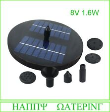 1.4W/1.6W//3W Solar Power Fountain Pump 200-350L/H Solar Water Pump for Fountain