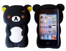 3D Cute Bear  Animal Silicon Rubber Phone Case Cover For Ipod touch4 4th Gen