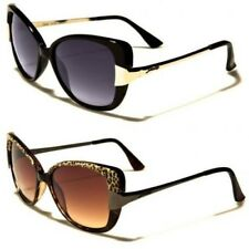 New Giselle Sunglasses Womens Ladies Cat Eye Vintage Black Designer Large G68