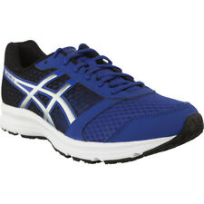 Asics Patriot 8 Mens Running Shoes Fitness Gym Trainers Blue/Black 4393