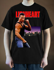 LIONHEART Movie poster ver. 1 Jean-Claude Van Damme T-Shirt (Black) S-5XL