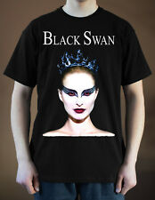 BLACK SWAN Movie poster ver. 1 Natalie Portman, Mila Kunis T-Shirt (Black) S-5XL