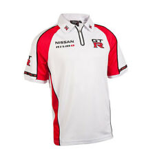 NISSAN MOTORSPORT MENS GTR POLO SHIRT  V8 SUPERCARS