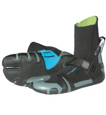 C Skins Wired 6mm Split Toe Wetsuit Boots - Black Green