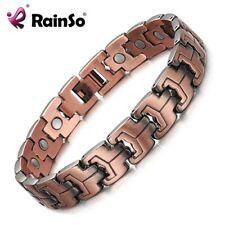 Magnetic Therapy Bracelet Health Care Copper Healing Bangle Relief Arthritis Kit
