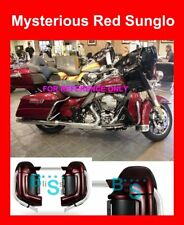 Mysterious Red Sunglo Lower Vented Fairing For Harley Street Electra Glide 83-17