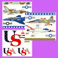 NAVY PLANES-AIR FORCE PLANES USA THEME FRANCES MEYER JUMBO STICKERS