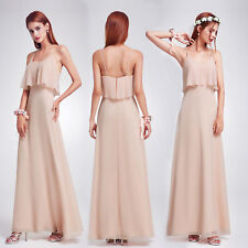 Ever Pretty New Long Chiffon Evening Dresses Bridesmaid Pageant Prom Gown 07131
