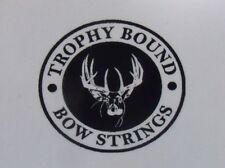 Martin compound bow string Custom Colors Trophy Bound Strings various models