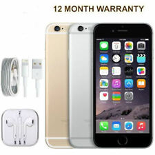 Apple iPhone 6 16GB 4G LTE Factory Unlocked Smartphone Grey Gold Perfect OK88