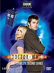 Doctor Who - The Complete Second Series (DVD, 2007, 6-Disc Set) W slip cover